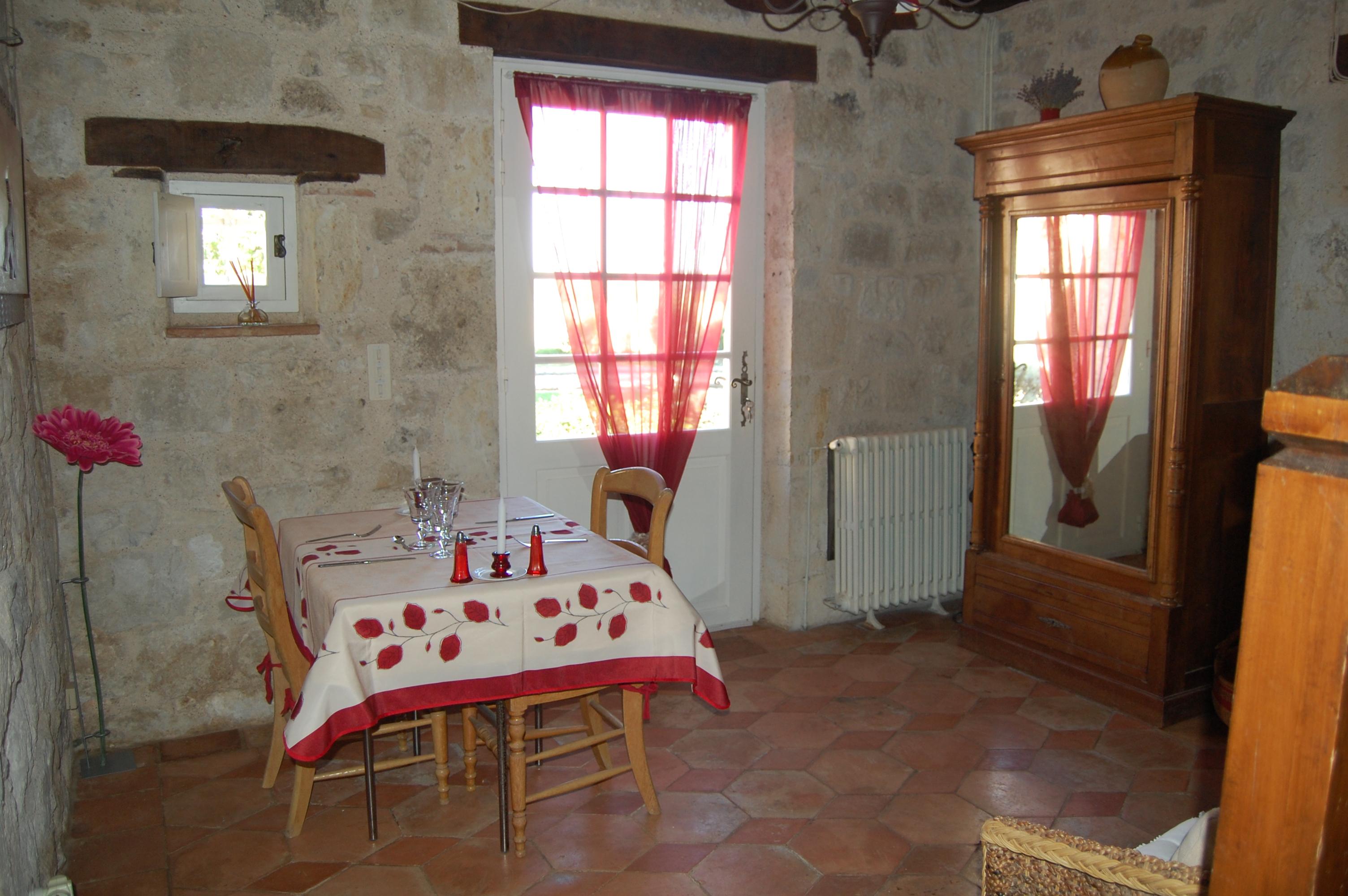 chambre d'hôte avec cheminée- chambre d'hôte romantique- week end en amoureux